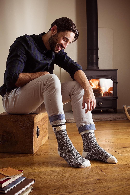 Heat Holders Calcetines térmicos de invierno para hombre Twist - Multi - 7-12 US: Amazon.es: Ropa y accesorios
