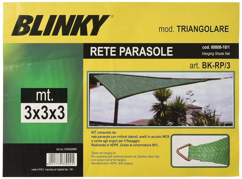 3/x 3/x 3/mt dreieckig Blinky 80810/Netz Sonnensegel