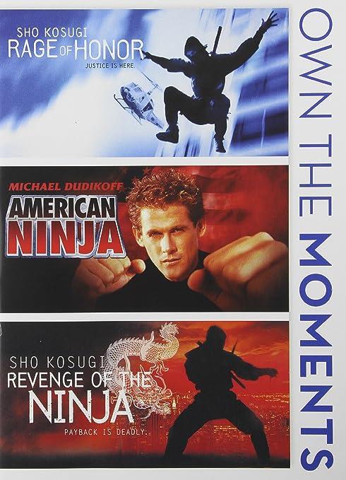 Amazon.com: Rage of Honor / American Ninja / Revenge of The ...