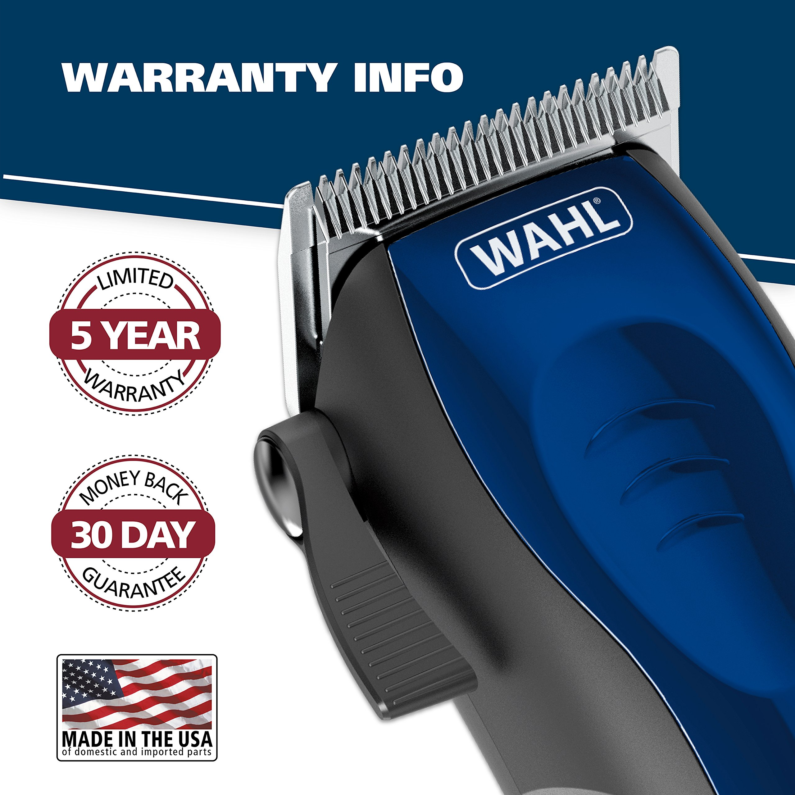 Wahl Clipper Self-Cut Haircutting Kit 79467 Compact Trimming and Personal Grooming Kit by WAHL (Image #8)