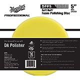 "MEGUIAR'S DFP5 Soft Buff 5"" DA (Dual Action) Foam Polishing Disc, 1 Pack"