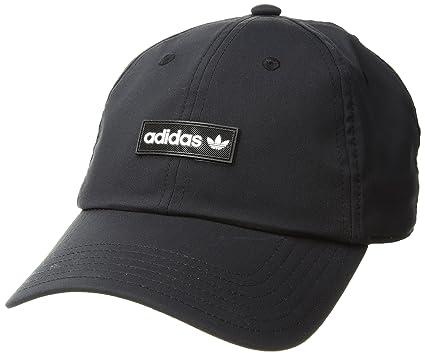 super popular fc4c9 97204 adidas Men s Originals Trefoil Decon Snapback Cap, Black White, One Size
