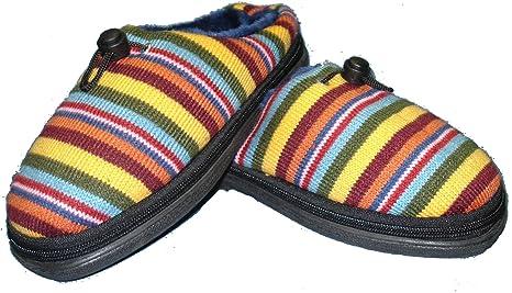 Microondas Zapatillas Cozy Toze (Medio Multicolor 39-40)