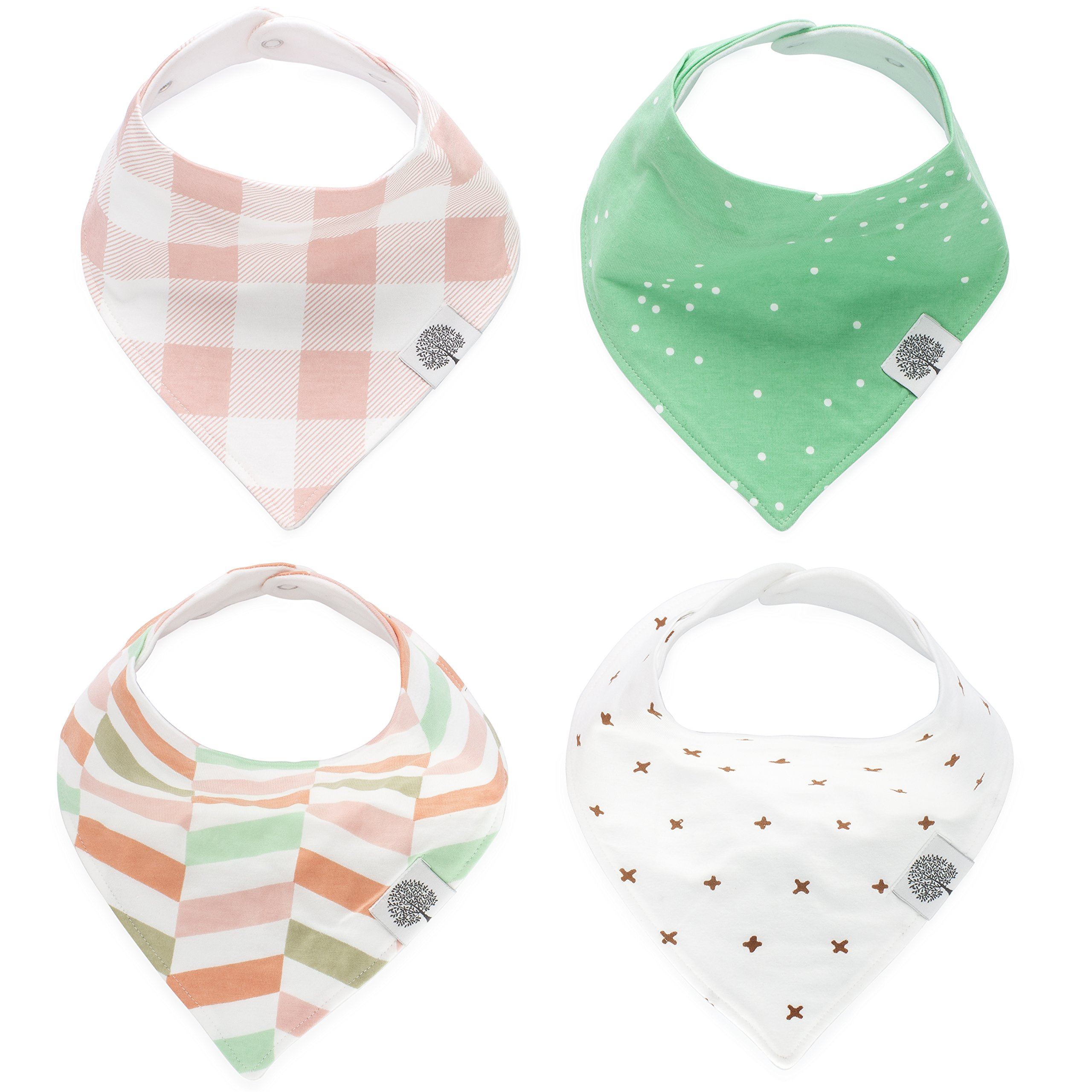 Bibs & Burp Cloths Mother & Kids Bandana Stylish Cotton Blend Baby Bib For Infants Baby Girls For 3 Months To 3 Years Self Feeding Care At Any Cost