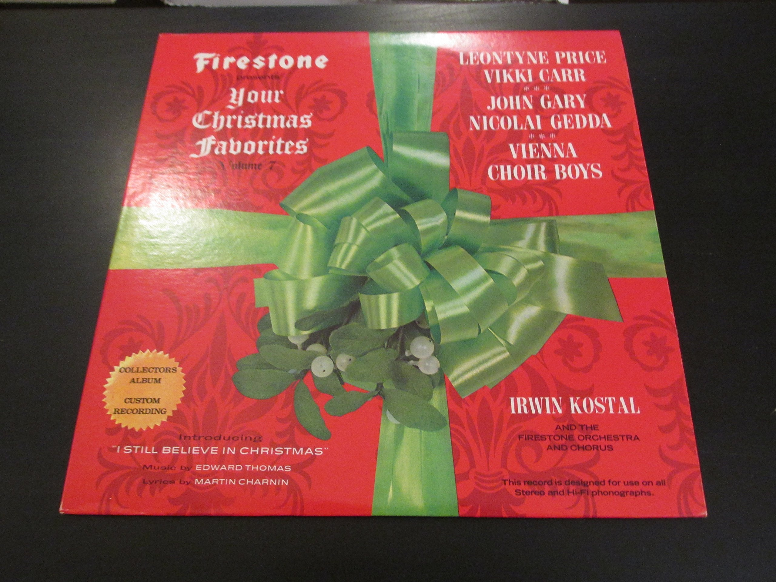 Firestone Presents Your Christmas Favorites, Vol. 7 by Forrell & Thomas (1968)
