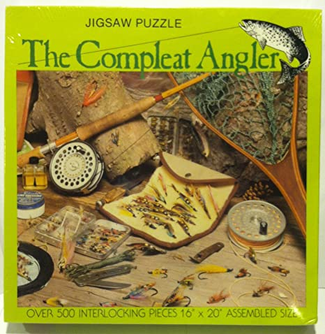 Amazon The Complete Angler 500 Piece Jigsaw Puzzle Toys Games