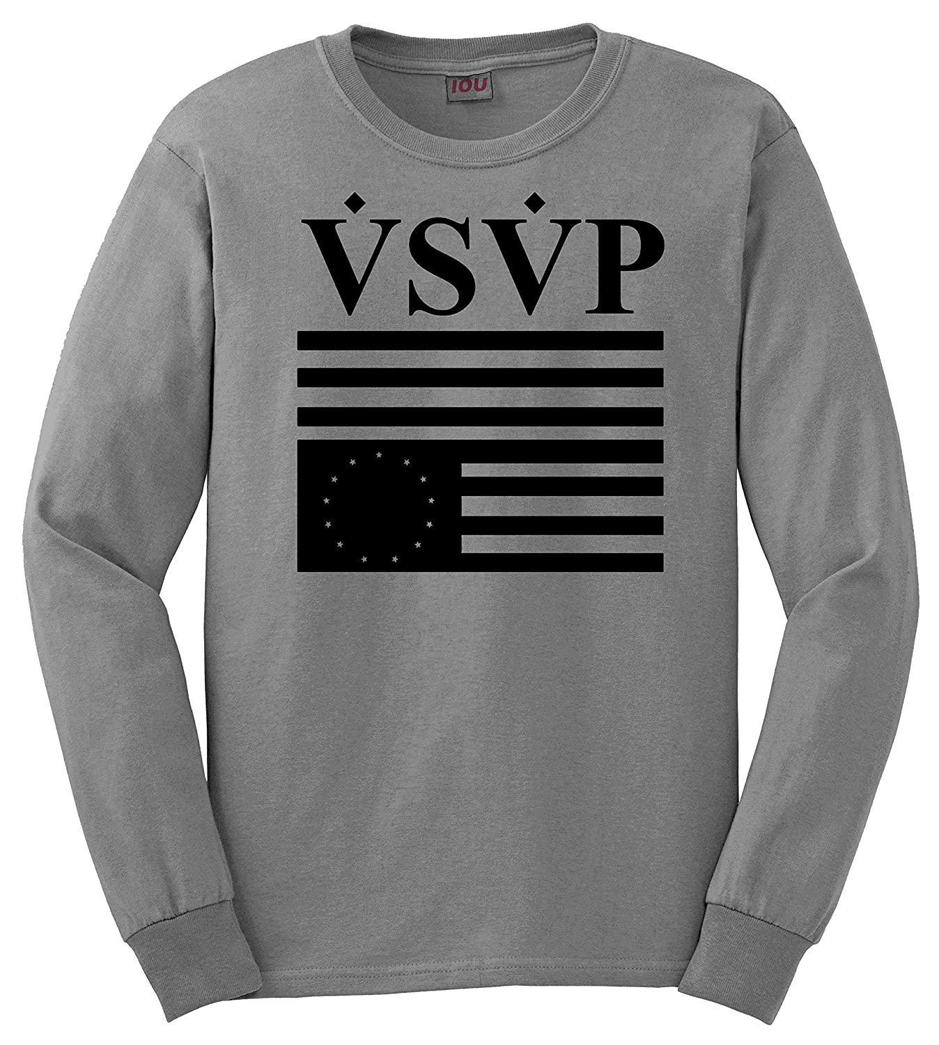 IOU VSVP ASAP Rocky Flag Long Sleeves Men's Crewneck Sweater