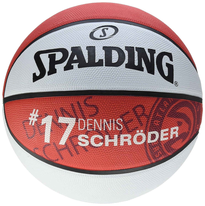 Spalding NBA Player D. Schroeder SZ.7 (83-39 Fire Rot Rot/Weiß 7 SPAPO|#Spalding 3001586012117