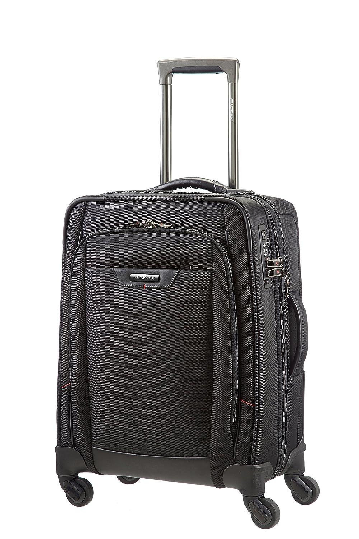 [サムソナイト] SAMSONITE スーツケース プロディーエルエックス4 スピナー55 37.5L 3.3kg 機内持込可 拡張機能 B00I48KKNCブラック