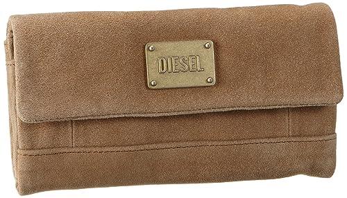 Diesel Amazonite - Monedero de Cuero Mujer