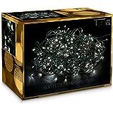 600 LED Catena luminosa Natale Luci minilucciole 50m Interni/esterni bianco freddo