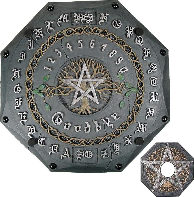 Nemesis Now Talking Board 34cm Ouija Grey Gris, Color (NOW192): Amazon.es: Juguetes y juegos