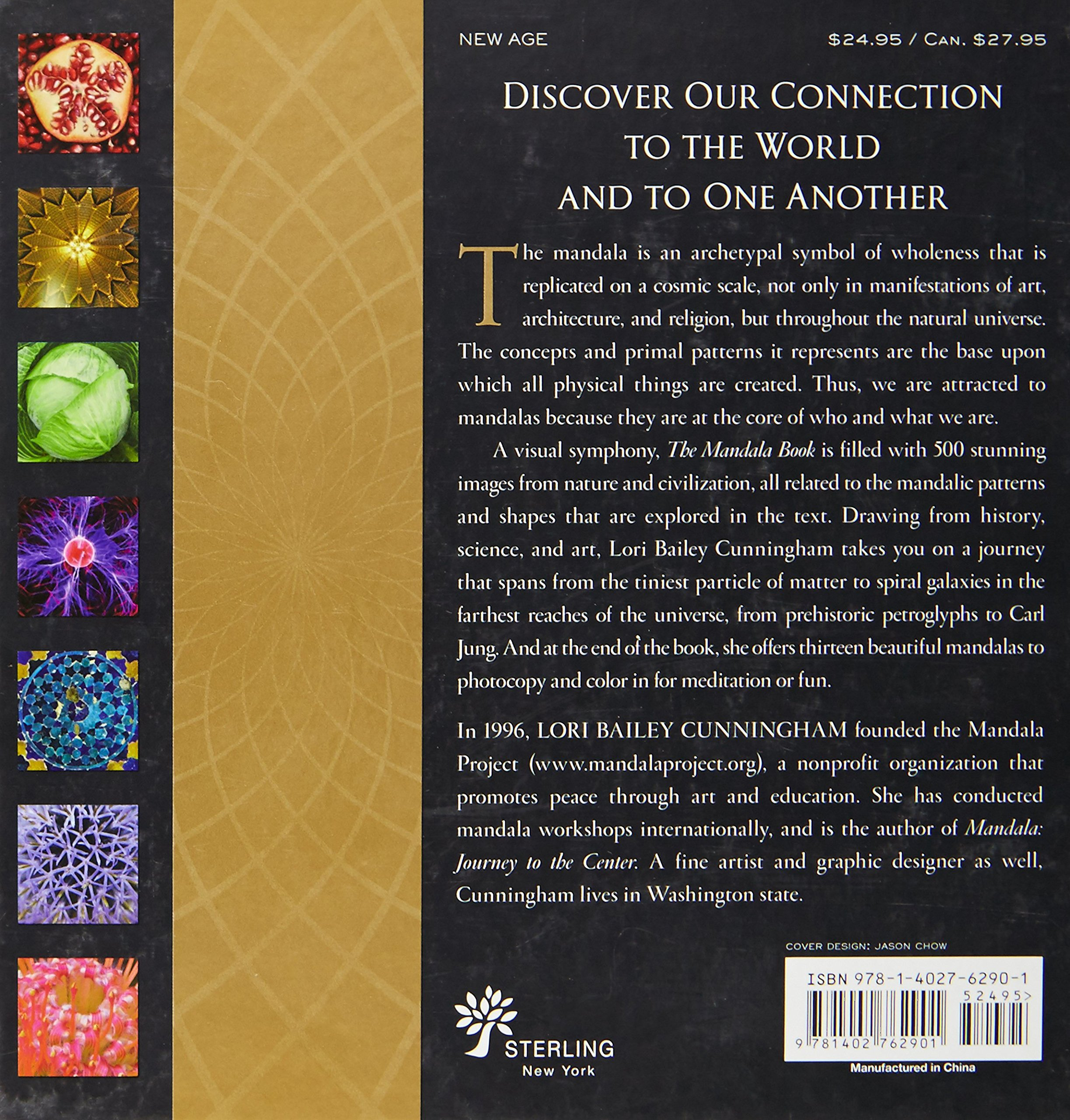 The Mandala Book Patterns Of Universe Lori Bailey Cunningham 9781402762901 Amazon Books