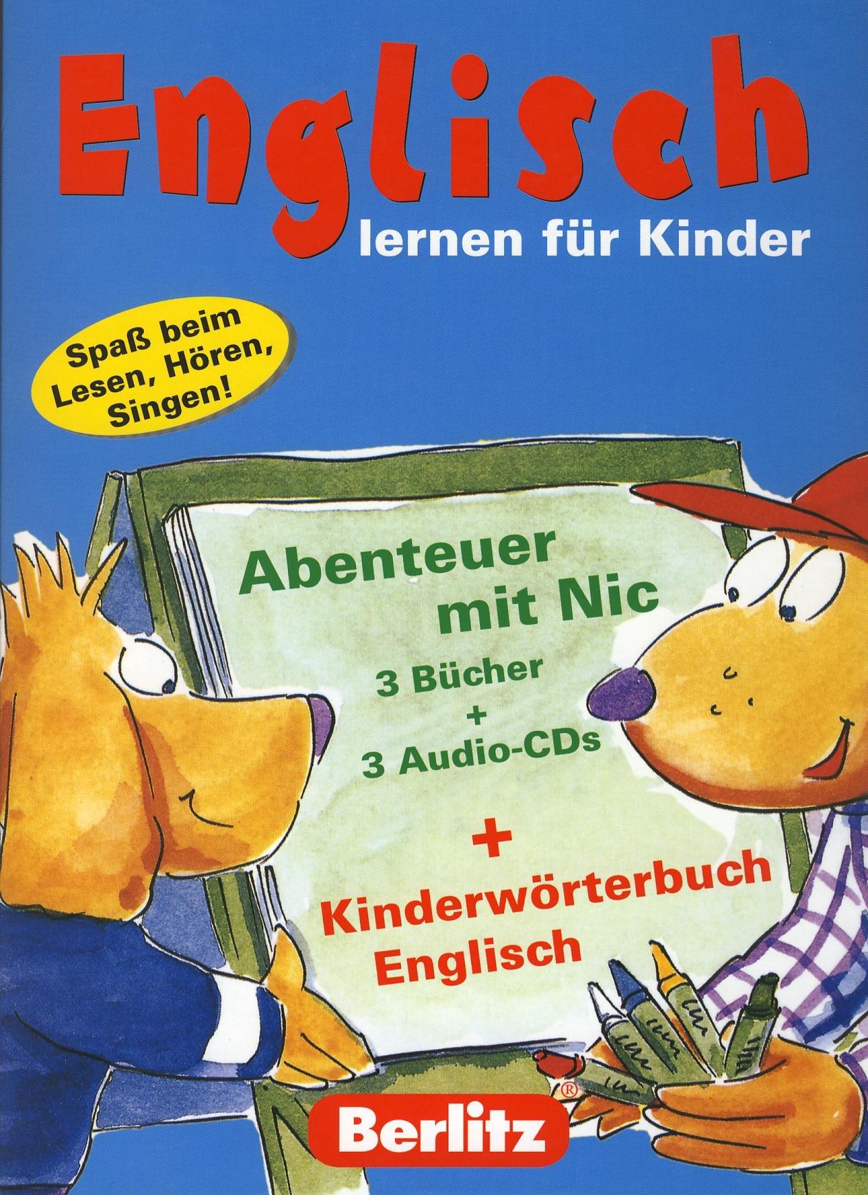 Berlitz Sprachlernbox für Kinder Englisch
