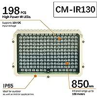 CMVision IR130-850 198 LED de interior y al