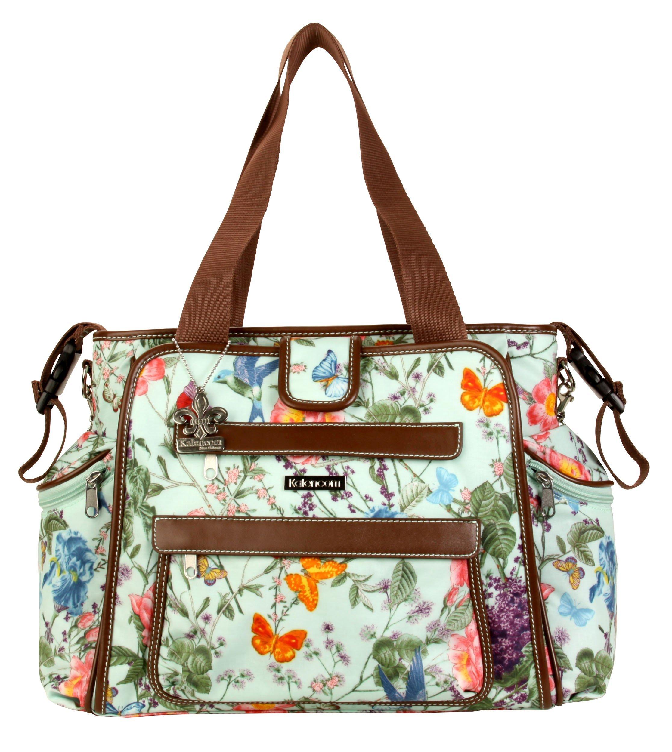 Kalencom Nola Tote Diaper Bag (Springtime) by Kalencom