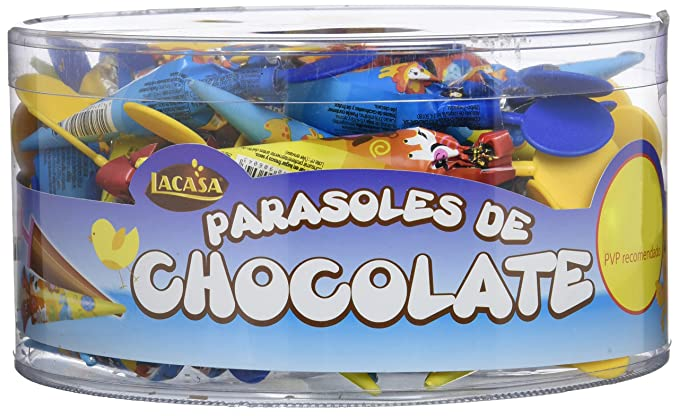Lacasa Parasol Chocolate - 50 Parasoles