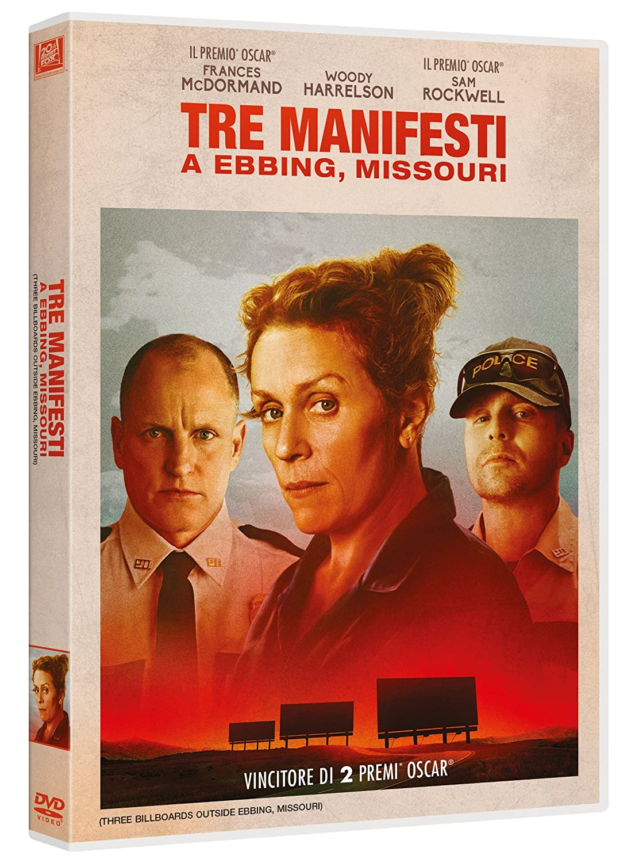 Tre Manifesti A Ebbing Missouri [DVD]