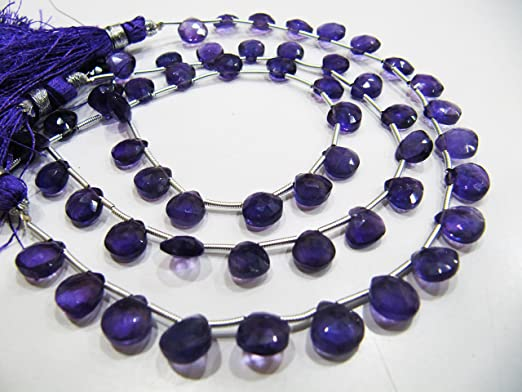 Details about  /8mm Natural Amethyst AAA+ Round Brilliant Extra Fine Rwanda VIDEO