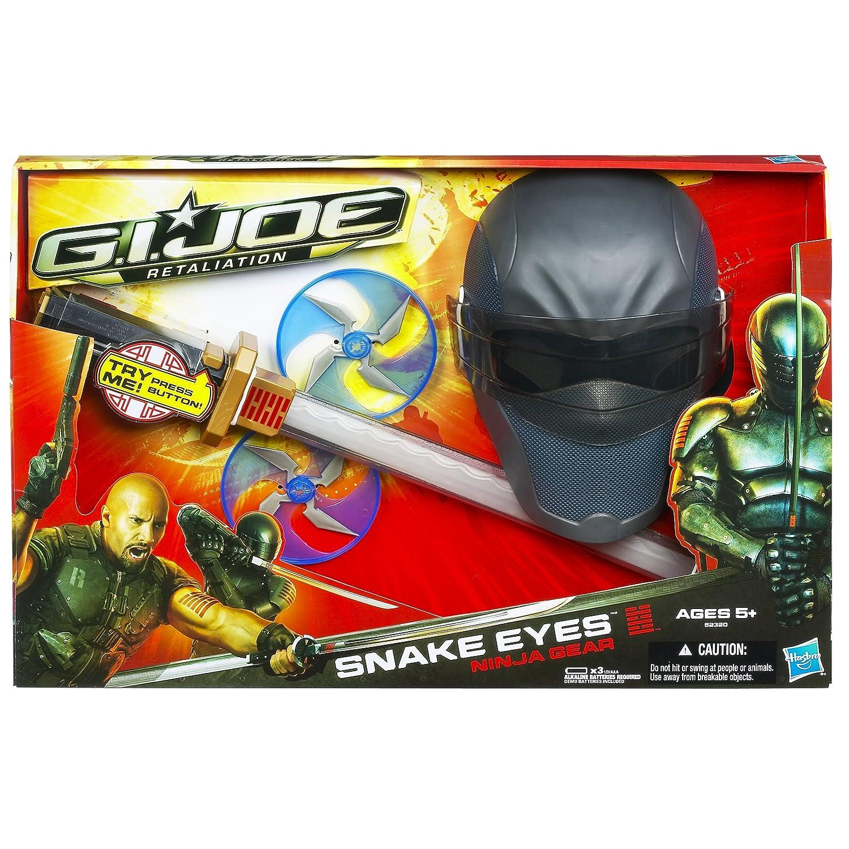 Amazon.com: G.I. Joe Represalias Ojos de serpiente Ninja ...