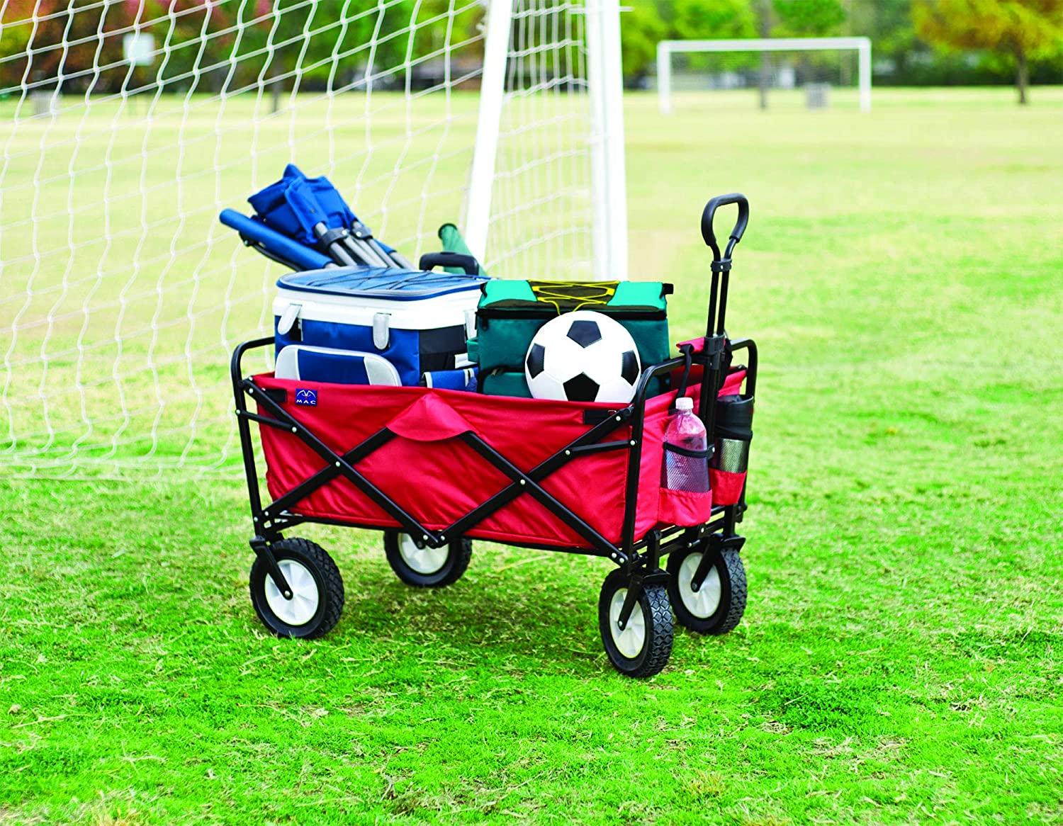Mac Sports Collapsible Folding Outdoor Utility Wagon2