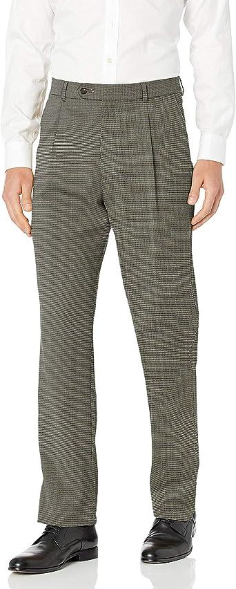 HART SCHAFFNER MARX WOOL MEN/'S SZ 36X32 PLEATED DRESS PANTS $125