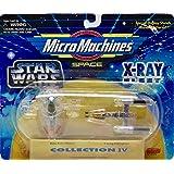 Star Wars 4 Micro Machines X-Ray Fleet Collection IV