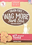 Cloud Star Wag More Oven Baked Grain Free Biscuits - 14 ounce Pumpkin