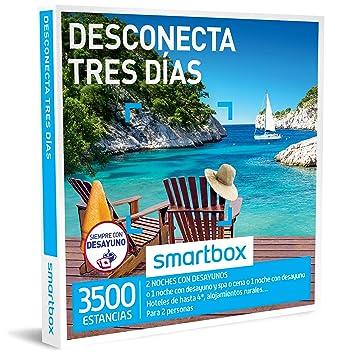 Smartbox - Caja Regalo -DESCONECTA Tres DÍAS - 3500 estancias en hoteles de hasta 4
