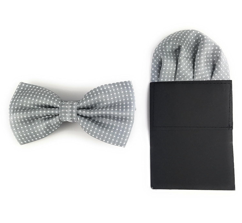 Conjunto de pajarita y pa/ñuelo de bolsillo de microfibra GOOD.designs/
