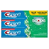 Amazon Price History for:Crest Complete Whitening Plus Scope Toothpaste - Minty Fresh, Net Wt. 6.2 oz(175 g) (Pack of 3)