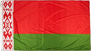 product image for Annin Flagmakers Model 190628 Belarus Flag Nylon SolarGuard NYL-Glo, 5x8 ft, 100% Made in USA to Official United Nations Design Specifications
