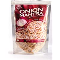 ONION MANTRA Kitchen Mantra Presents Dehydrated Onions Ready to use- 100 Grams