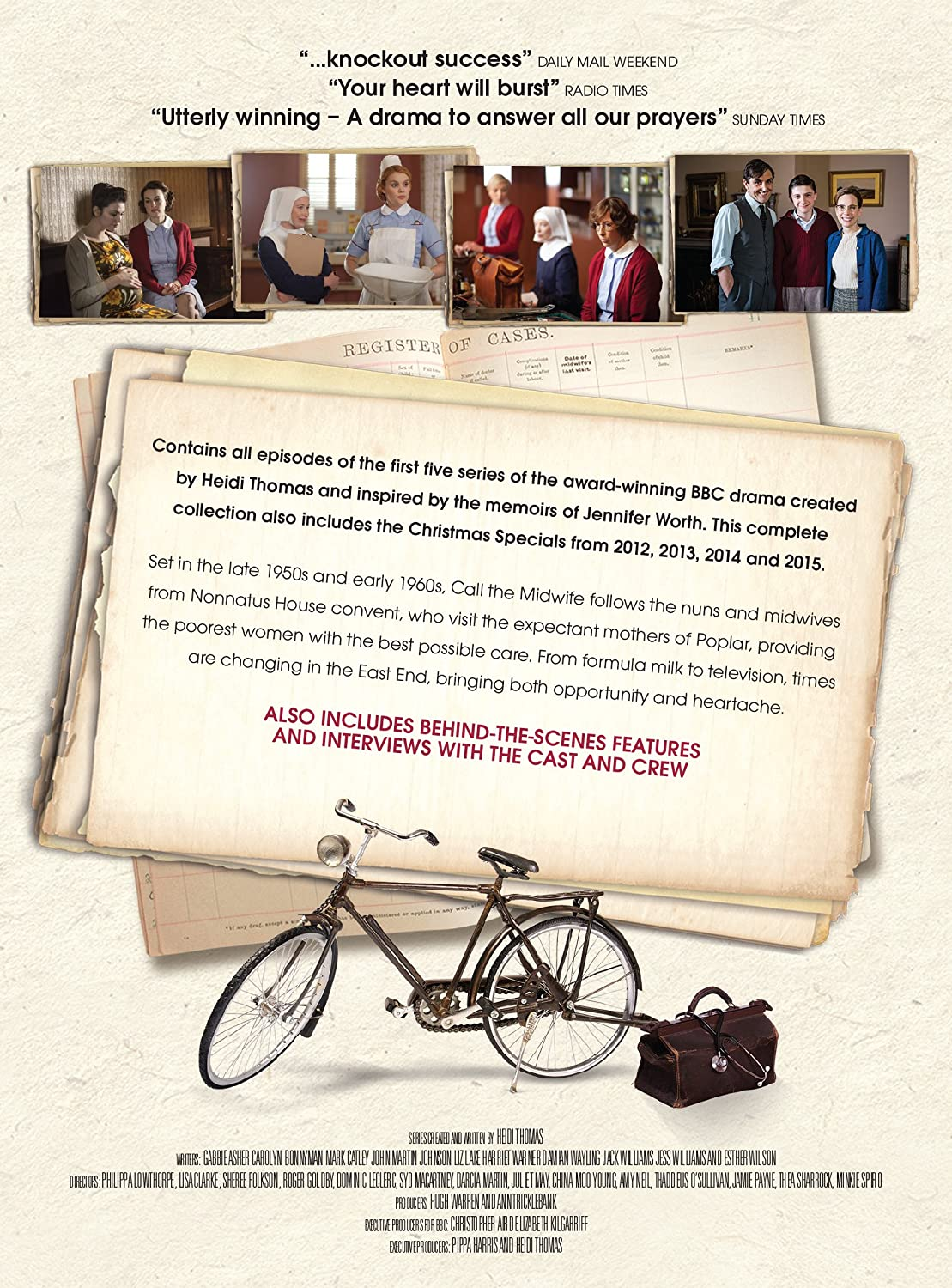 Call the Midwife Series 1-5 Complete Reino Unido DVD: Amazon ...