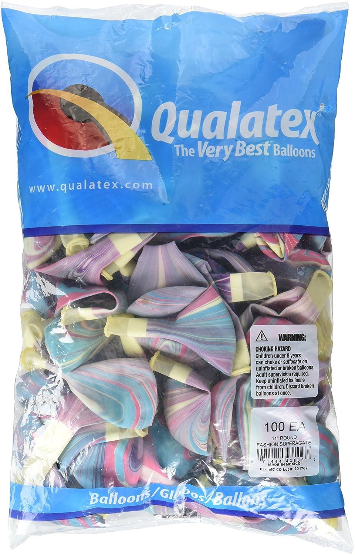 Pioneer Ballon 100 27,9 Zählen Fashion SuperAgate Latex Luftballons, 27,9 100 cm Multicolor c3fc38