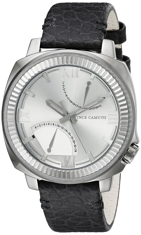 Vince Camuto unisex-Armbanduhr The Master Analog Quarz Silikon VC-1003SVDS
