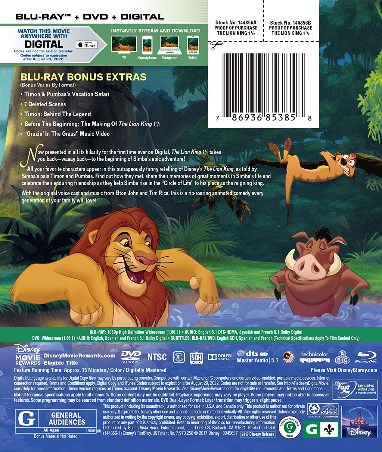 lion king 1080p stream