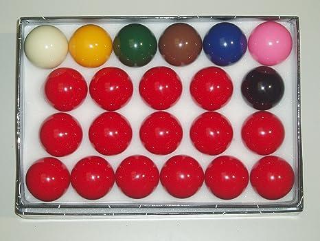 SGL - Juego de Bolas de Snooker (diámetro 52,5 mm): Amazon.es ...