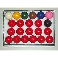 SGL - Juego de bolas de snooker (diámetro 52,5 mm)