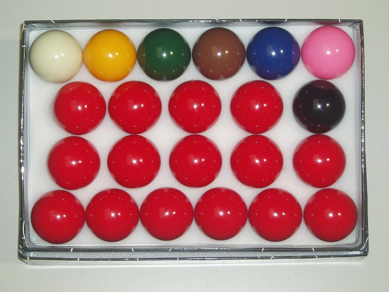 SGL - Juego de bolas de snooker (diámetro 52, 5 mm)