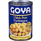 Goya Chick Peas, Garbanzo Beans, 15.5 Ounce