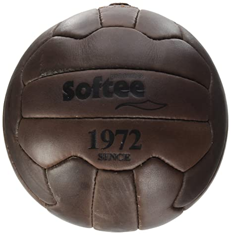 Softee Equipment 0000148 Balón Vintage, Blanco, S: Amazon.es ...