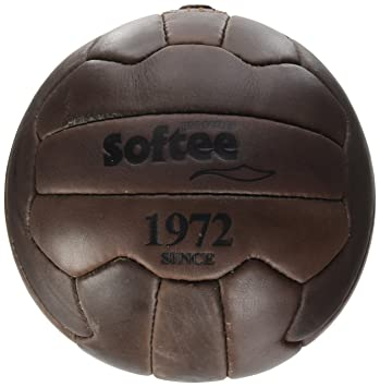 Softee Equipment 0000148 Balón Vintage, Blanco, S
