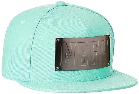 Neff Plate Gorra Negro, Color Ice, tamaño Talla única