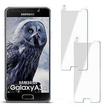 2x 9h Panzerfolie Fur Samsung Galaxy A3 Amazon De Elektronik