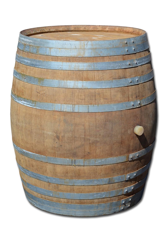 Fass mit 500 Liter, Holzfass, Weinfass aus Eichenholz (geschlossen als Stehtisch)