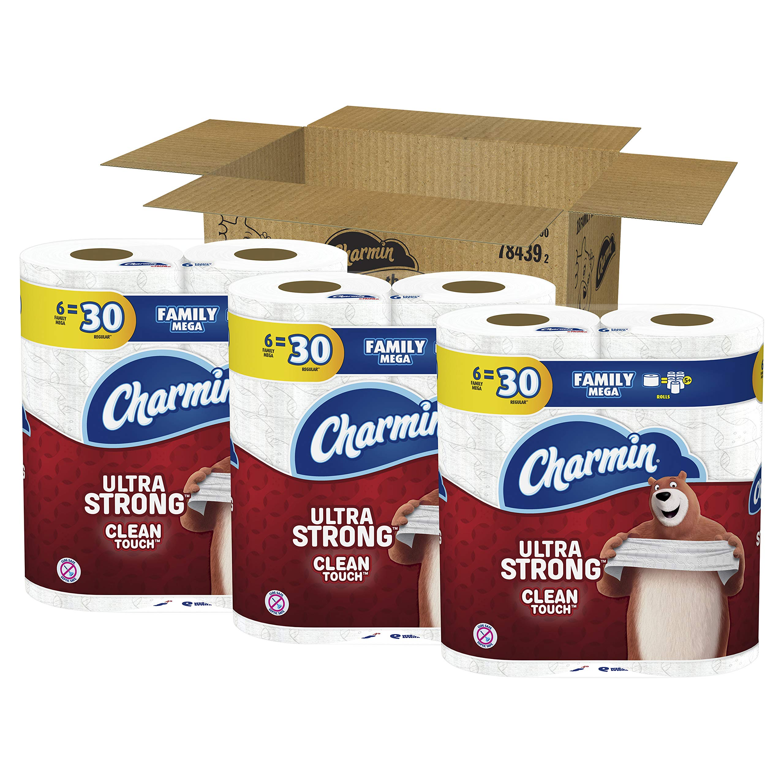 Charmin Toilet Paper Ebay: Charmin Ultra Strong Clean Touch Toilet Paper, Family Mega