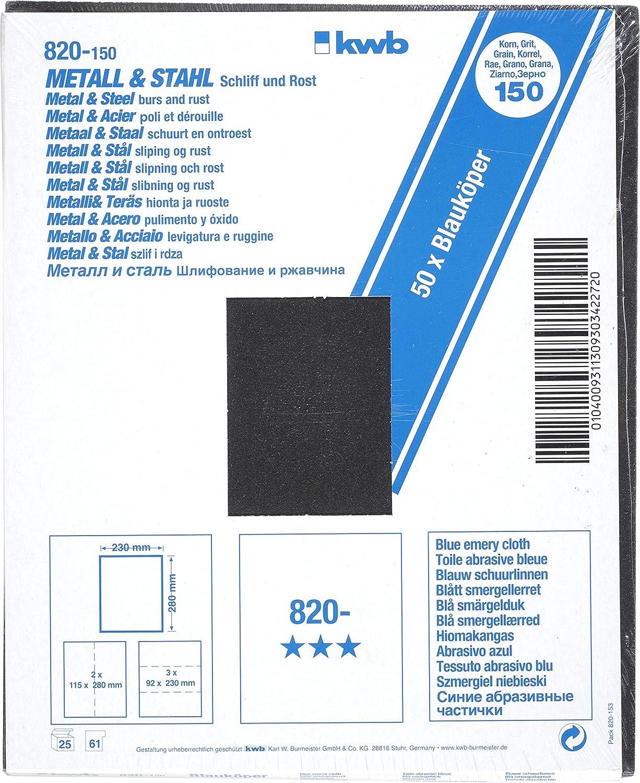 K100/M/étal 50BL schleifp 50/cm = 1