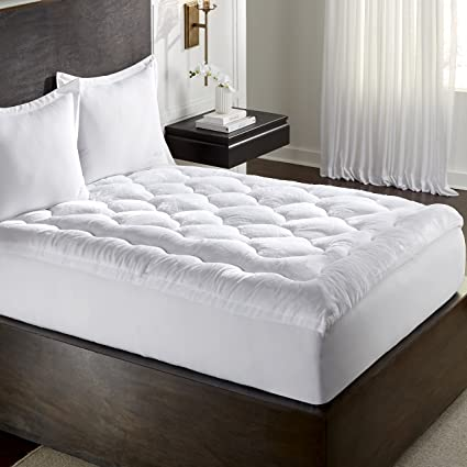 Amazon.com  MGM GRAND Hotel FB-021-9TXL Mink Plush Mattress Quilted ... 0de7ee195