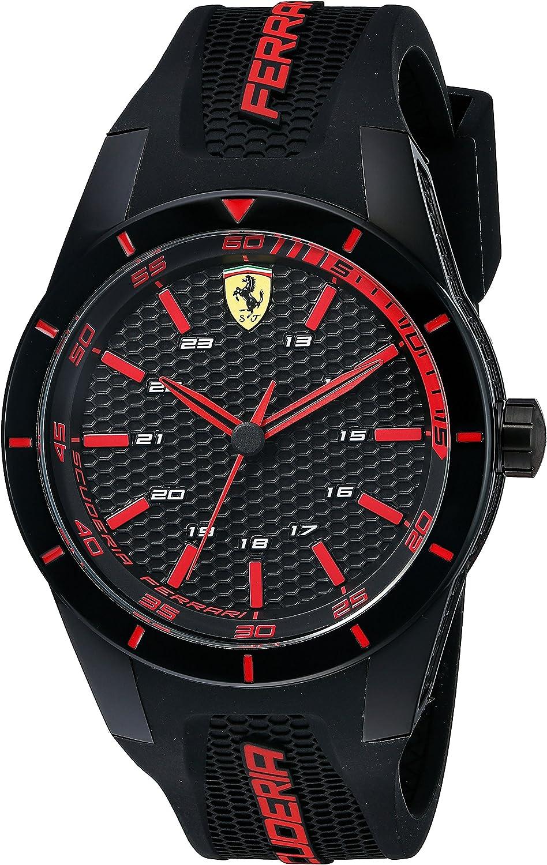 Ferrari Herren 0830245 Redrev Analog Display Quartz Black Watch Amazon De Uhren